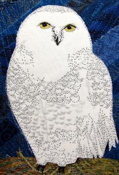 "Snowy owl 8x10"""