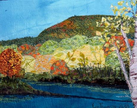 """Mt Toby, fall 18x14"""""""