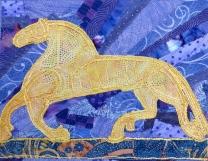 "commission Viking horse 8x10"""