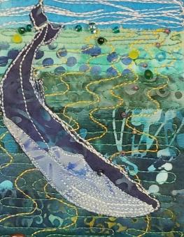 blue whale card