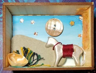 white horse box