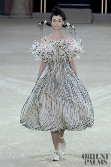 guopei cascade dress